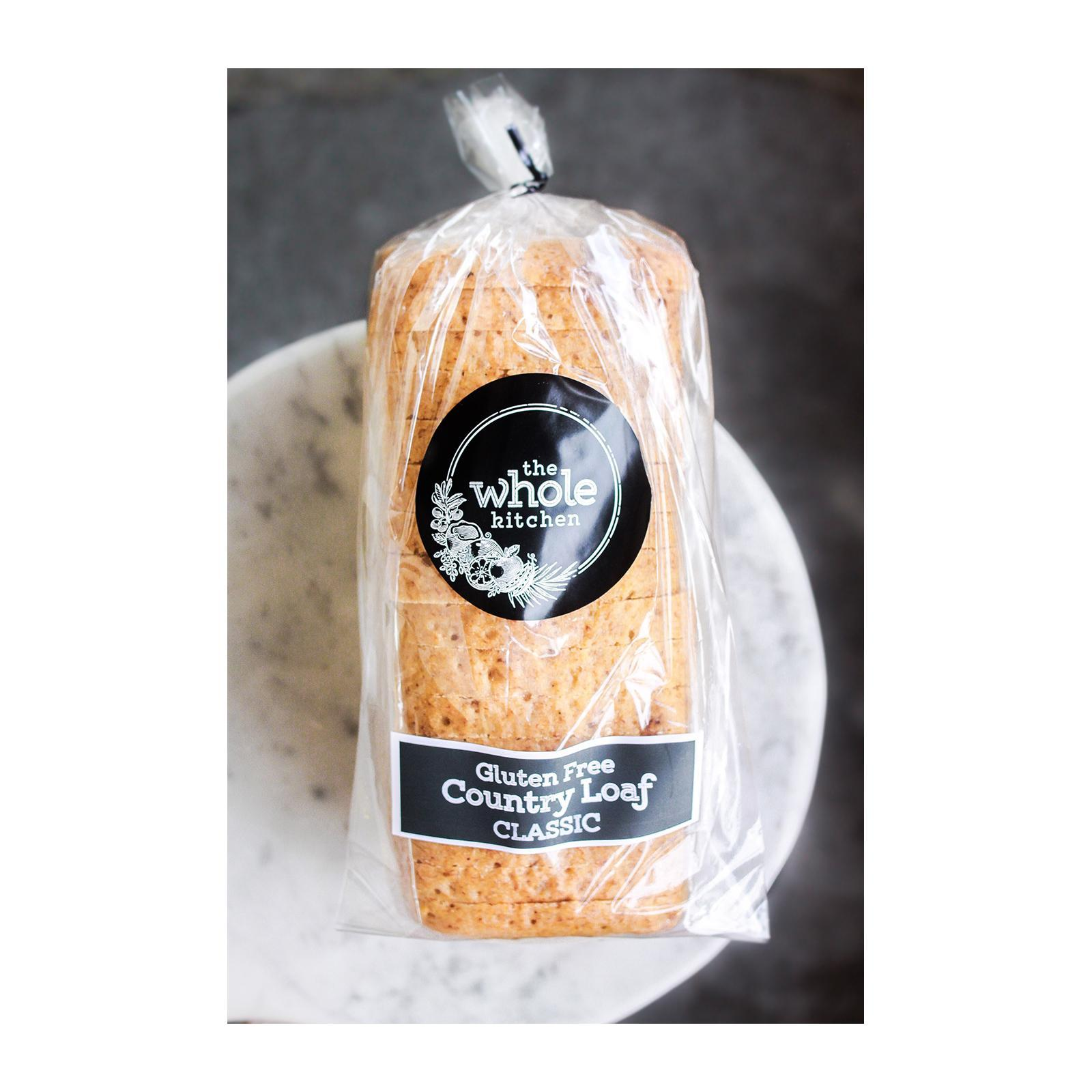 The Whole Kitchen Gluten Free Country Loaf - CLASSIC - Frozen
