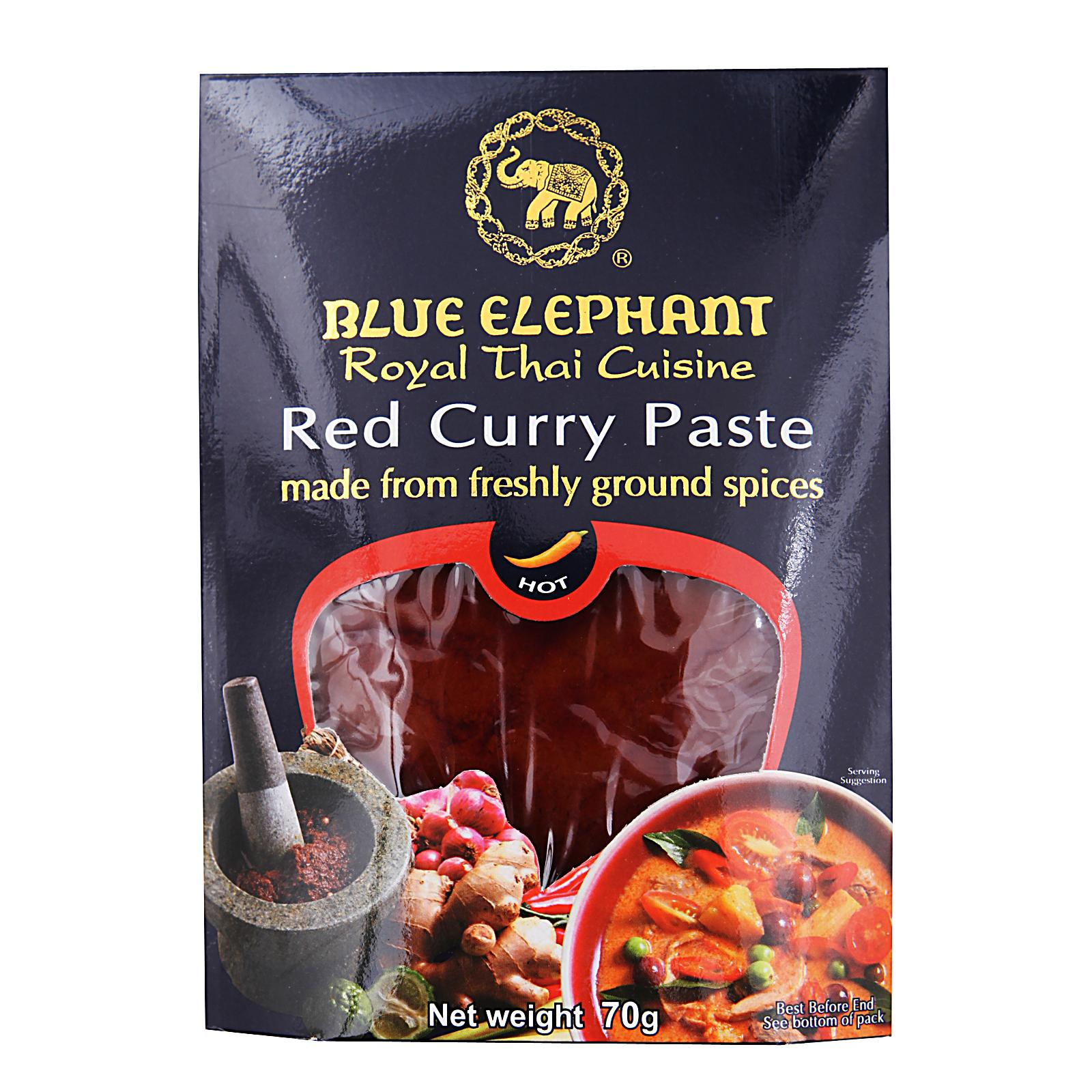 Blue Elephant Red Curry Paste By Redmart.