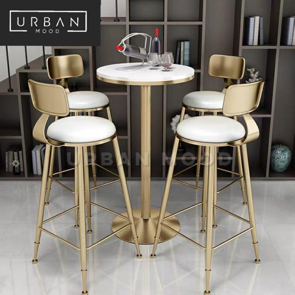 [Pre-Order] NOVA Modern Marble Bar Table & Chairs