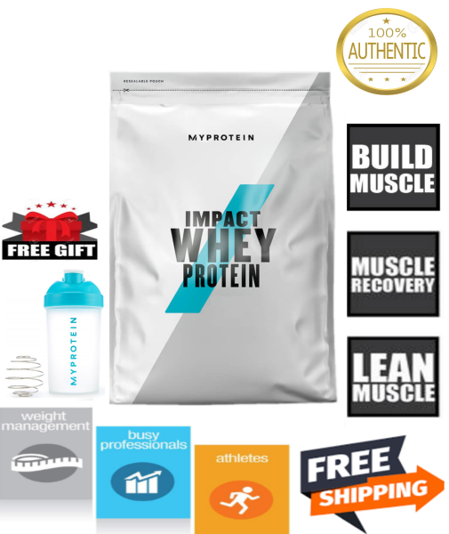 Buy MyProtein Whey Impact Whey Protein / BCAA / Creatine / Fish Oil / Instant Oat (Select Size and Flavor) FREE Shipping 2-3 Days by Racepack Singapore