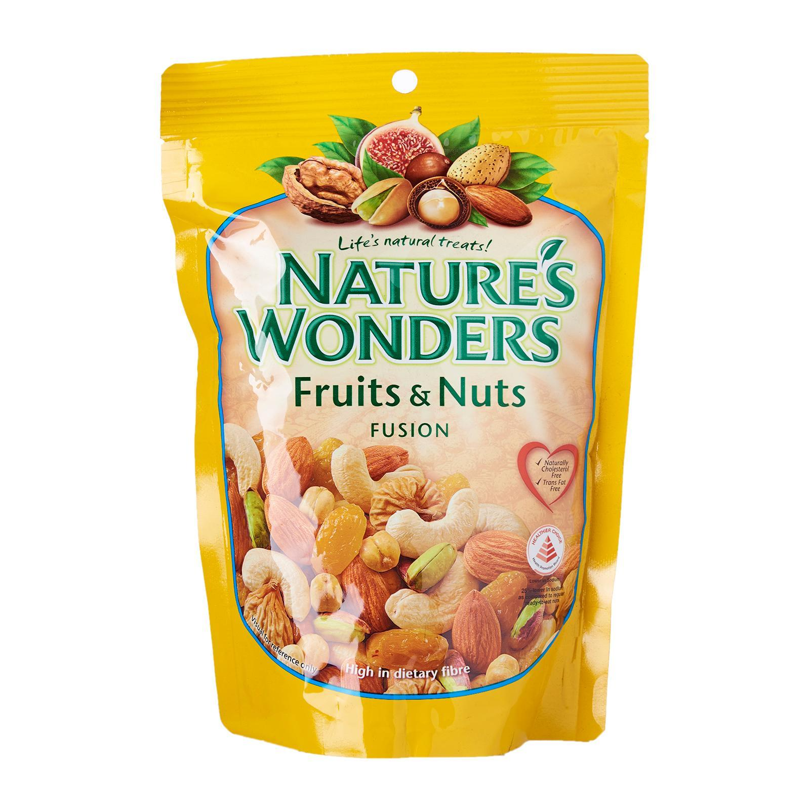 Nature's Wonders Fruits And Nuts Fusion