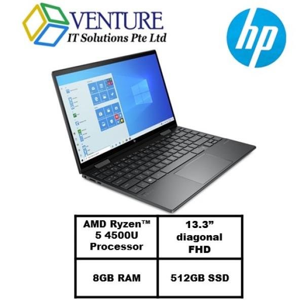 HP ENVY x360 Convert 13- ay0008AU/13.3 FHD Touch 100% sRGB/Ryzen5 4500U/8GB RAM/512GB SSD/Radeon Graphics/2 Yrs Warranty