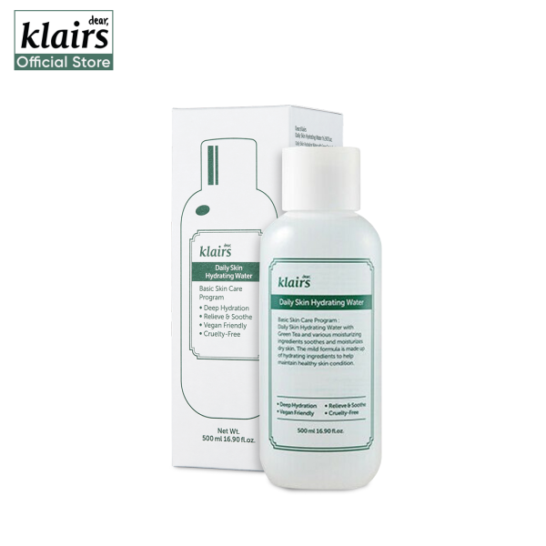 Buy Klairs Daily Skin Hydrating Water 500ml Singapore