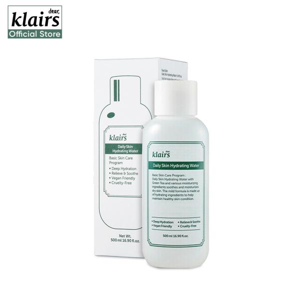 Buy Klairs Daily Skin Hydrating Water 500ml Singapore