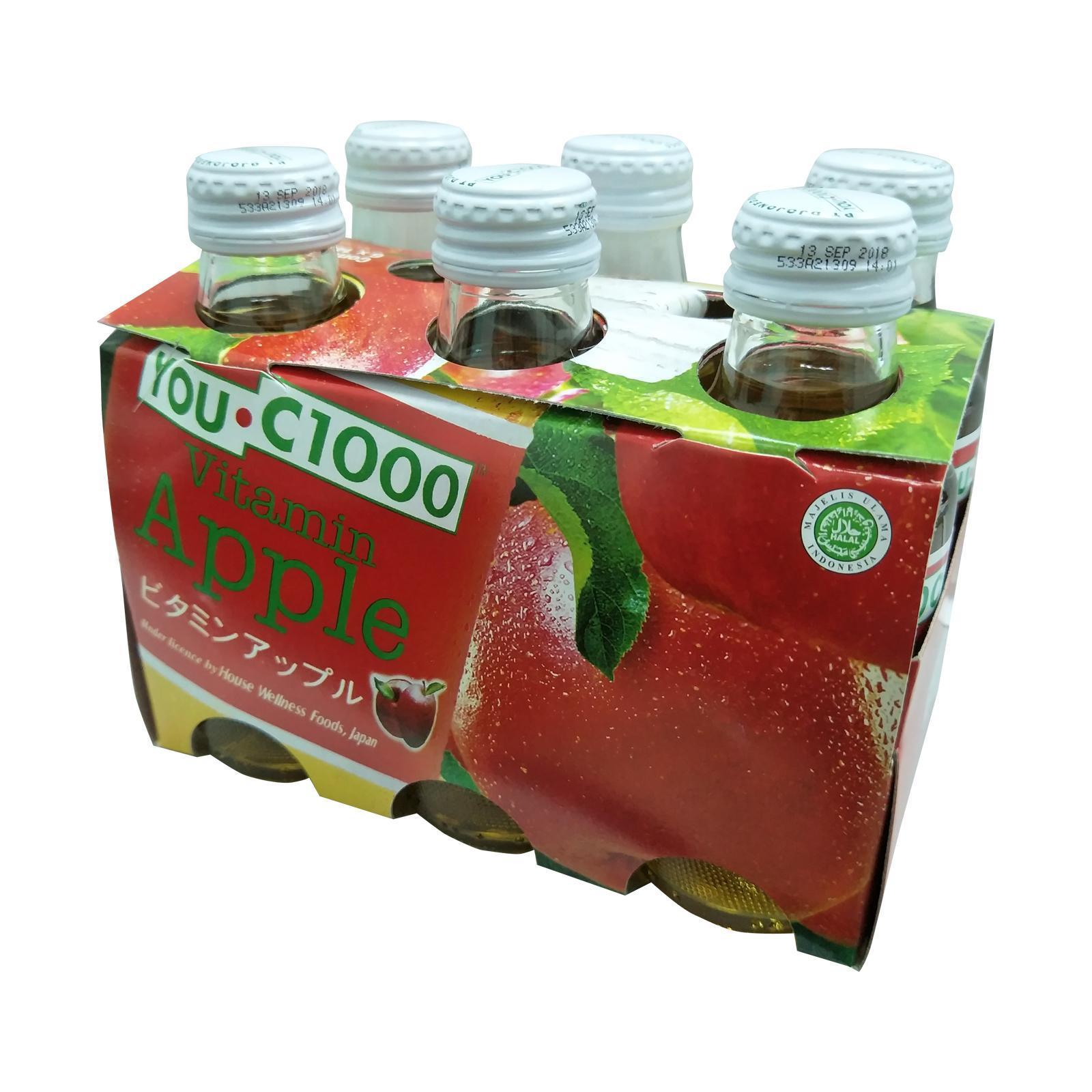 YOUC1000 Vitamin Apple Health Drink
