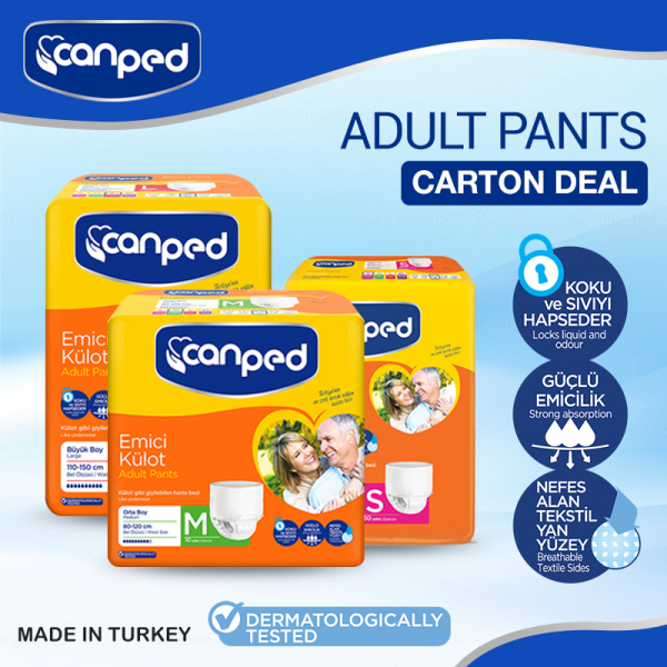Buy CANPED Adult Pants S, M, L Size Available CARTON DEAL Singapore
