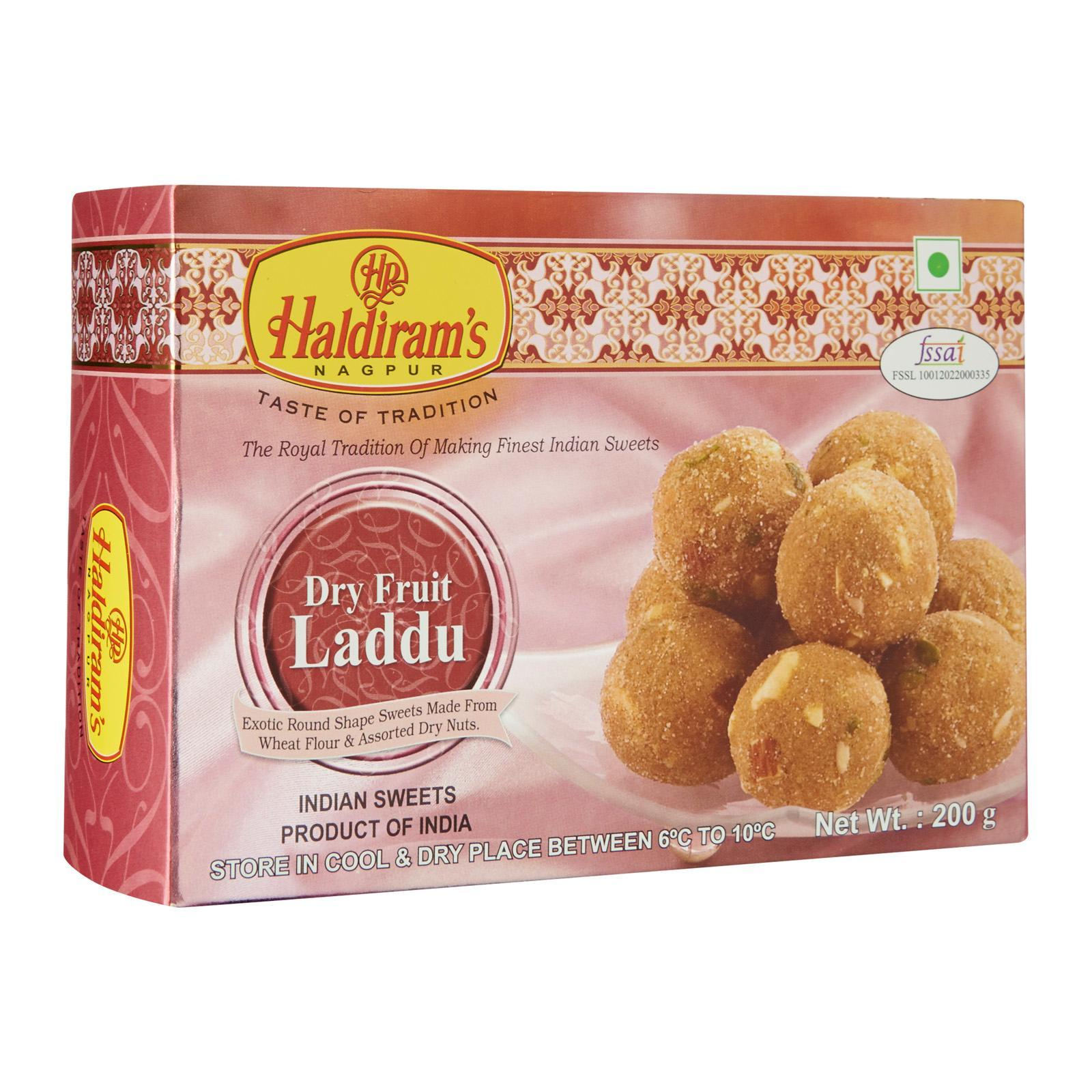 Haldiram's Dry Fruit Laddu Sweets