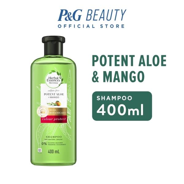 Buy Herbal Essences Bio:Renew Potent Aloe + Mango Shampoo 400ml Singapore