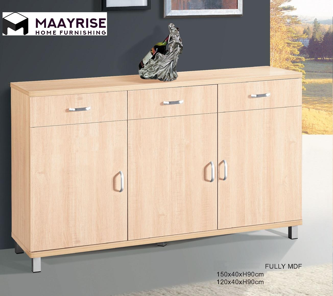 [MAAYRISE] Display Cabinet 14-S36 1.5Meter