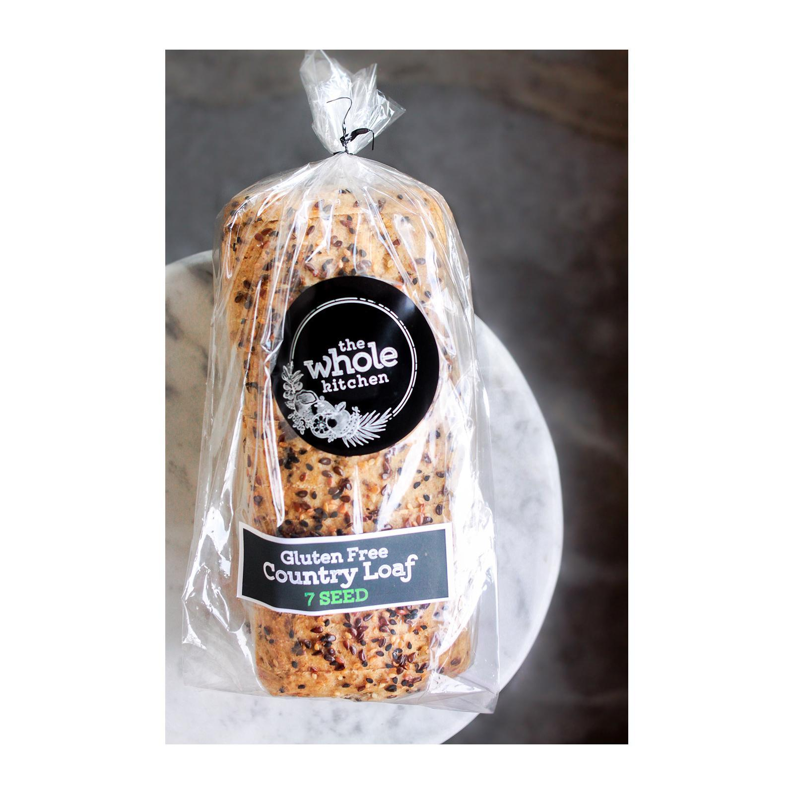 The Whole Kitchen Gluten Free Country Loaf - 7 SEED - Frozen