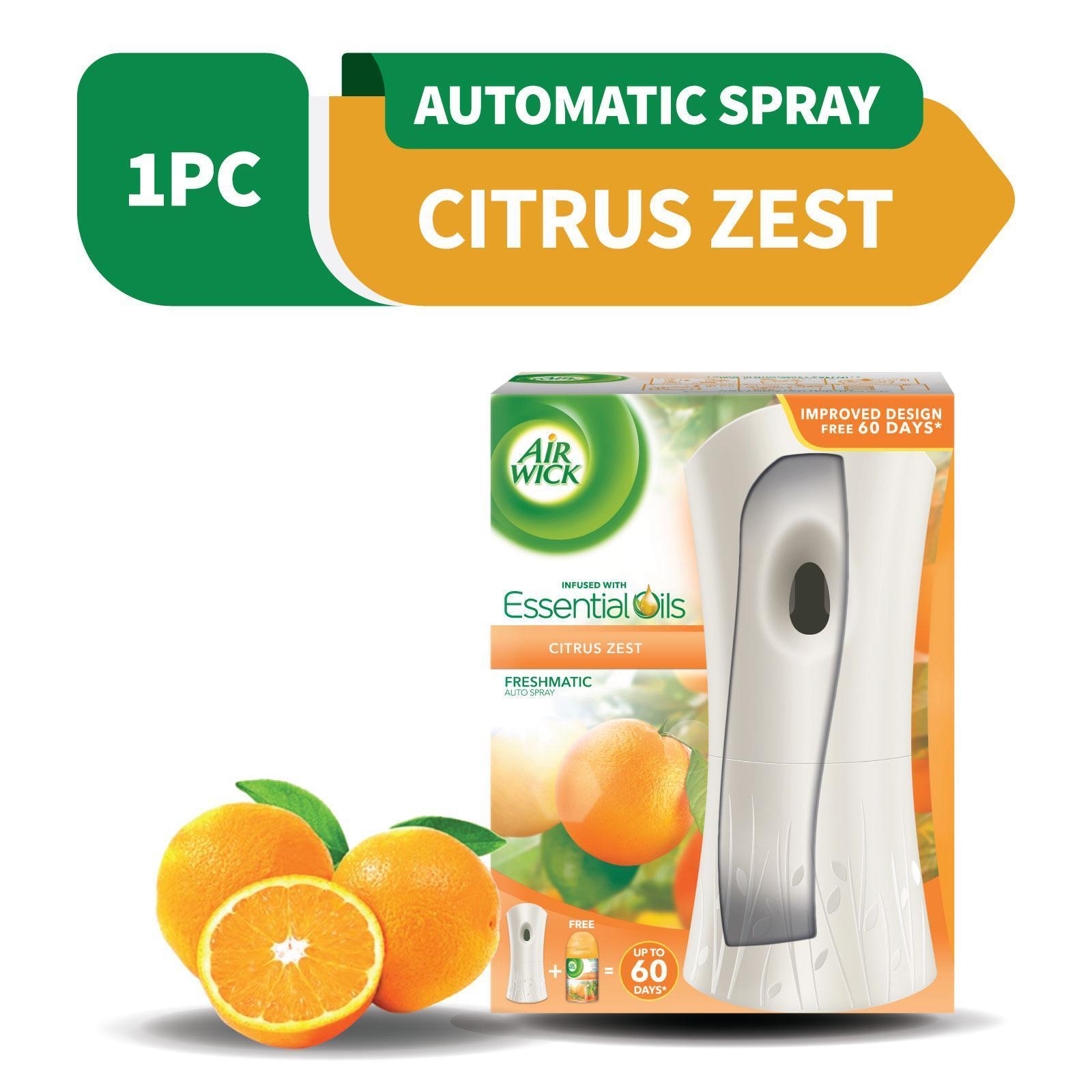 Air Wick Citrus Freshmatic Automatic Spray Starter Kit