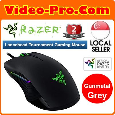 Razer Lancehead Tournament Edition Ambidextrous Gaming Mouse RZ01-02130100-R3A1 2 Years Warranty