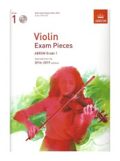 ABRSM Grade 1 Violin Exam Pieces with CD