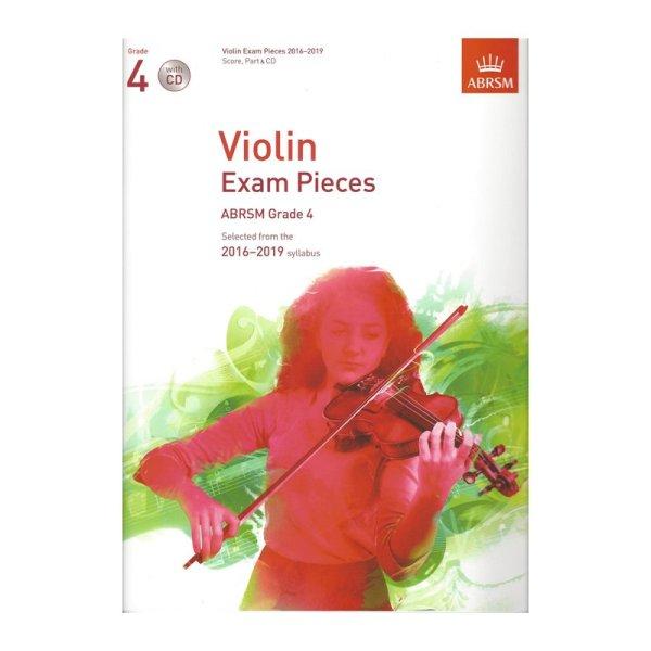 ABRSM Grade 4 Violin Exam Pieces with CD