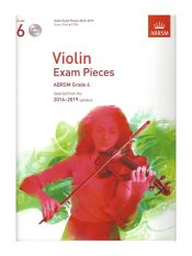ABRSM Grade 6 Violin Exam Pieces with 2 CDs