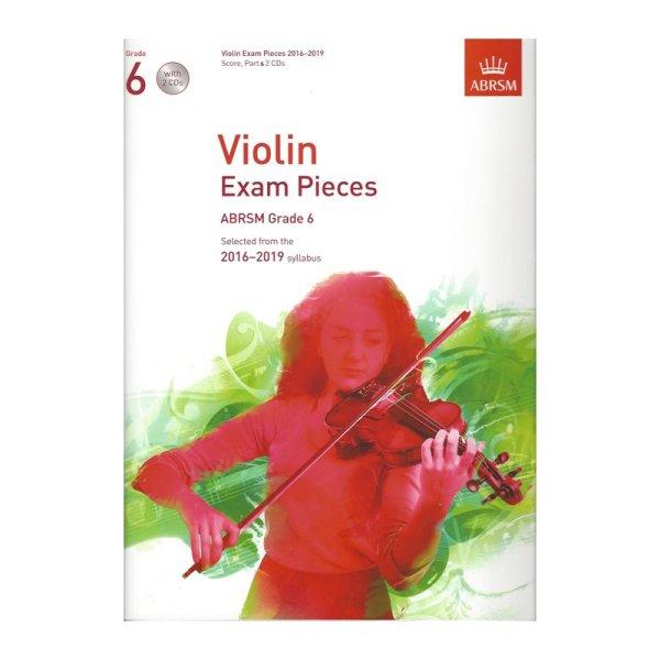 ABRSM Grade 6 Violin Exam Pieces with 2 CDs