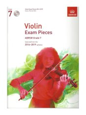 ABRSM Grade 7 Violin Exam Pieces with 2 CDs