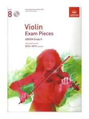 ABRSM Grade 8 Violin Exam Pieces with 3 CDs