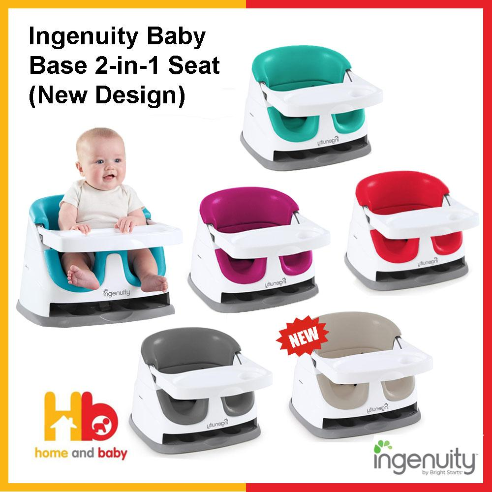 Fashionable Floor Booster Seat For Infant Toddler Baby Ingenuity Kid Base 2-In-1
