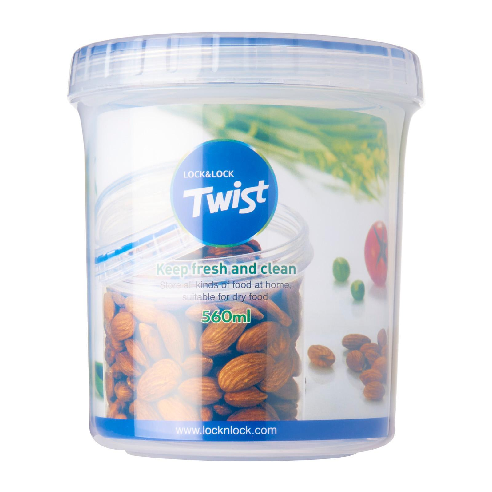 Lock and Lock Twist Container 560ML
