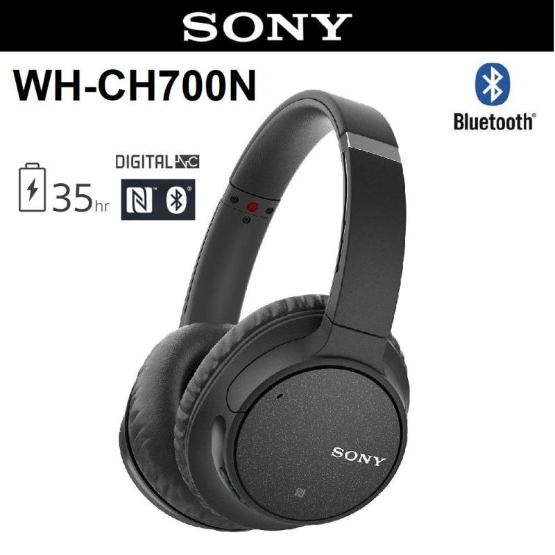 Sony WH-CH700N Bluetooth Wireless Noise Cancellation On-Ear Headphones Singapore