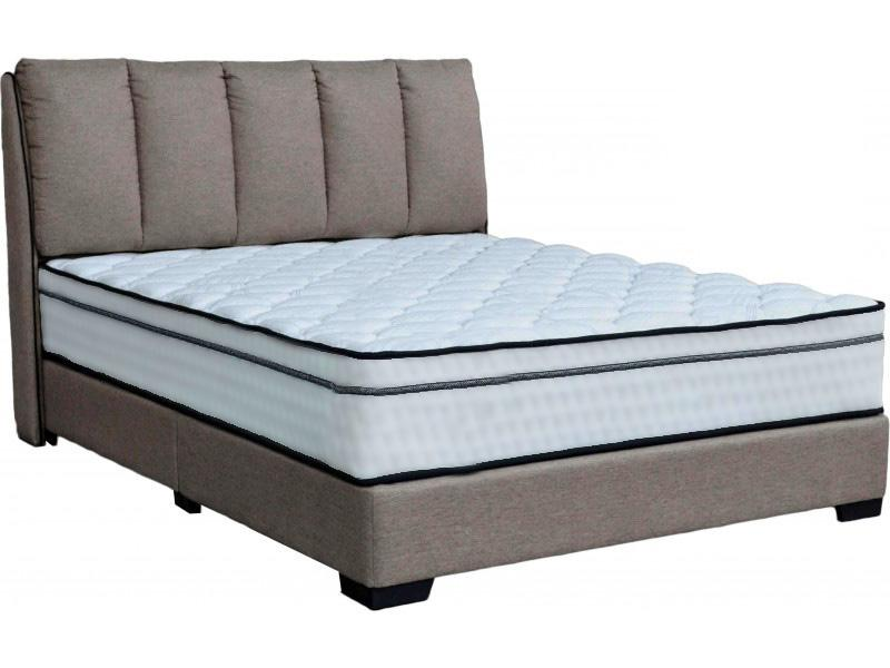 [Furniture Amart] Queen size Fabric bedframe with Cushion (Free Installation)