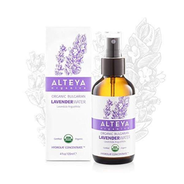 Buy Alteya Organics Organic Lavender Water 120ml (Glass Mister) Expiry August 2021 Singapore
