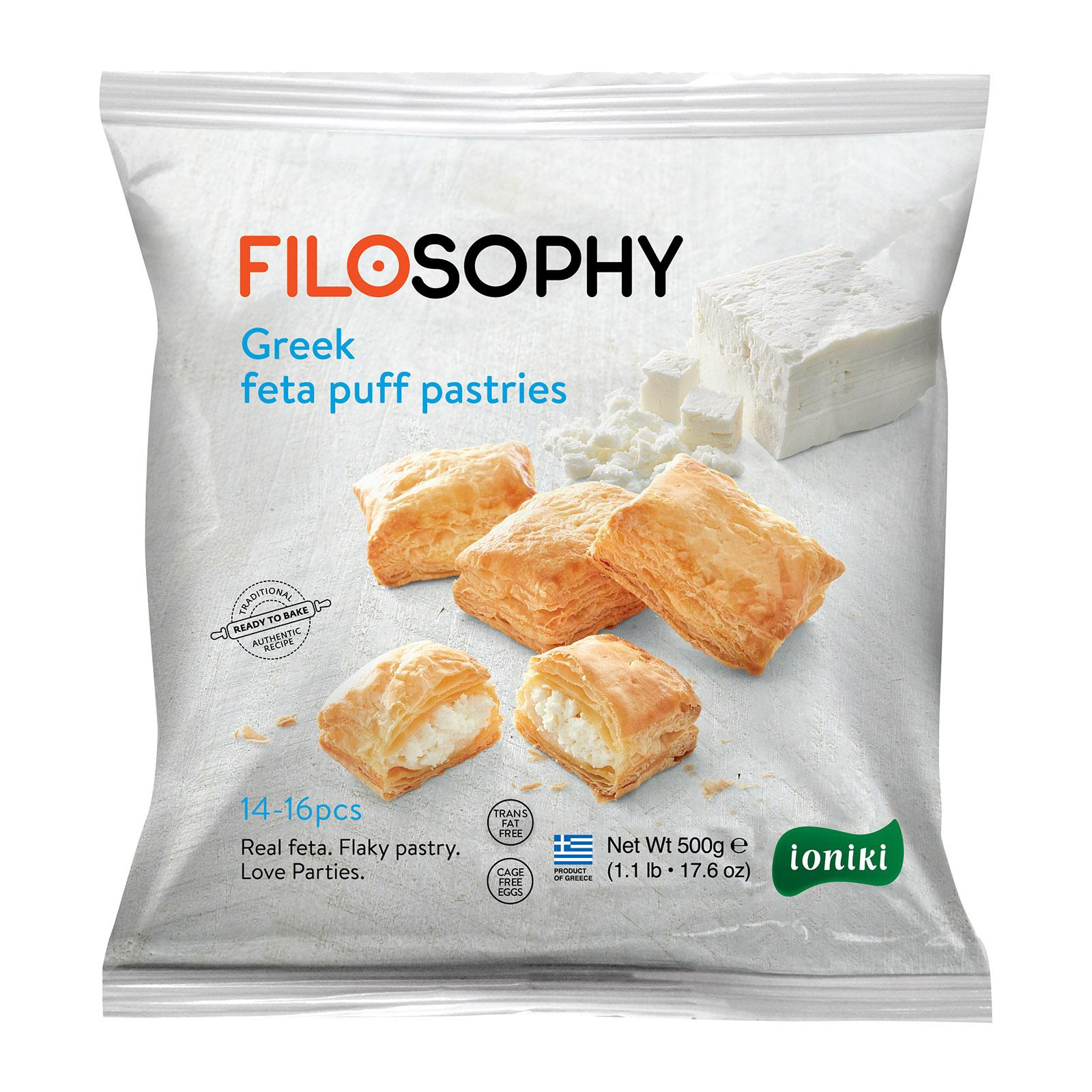 FILOSOPHY Greek Feta Puff Pastry Pies By Agora Products