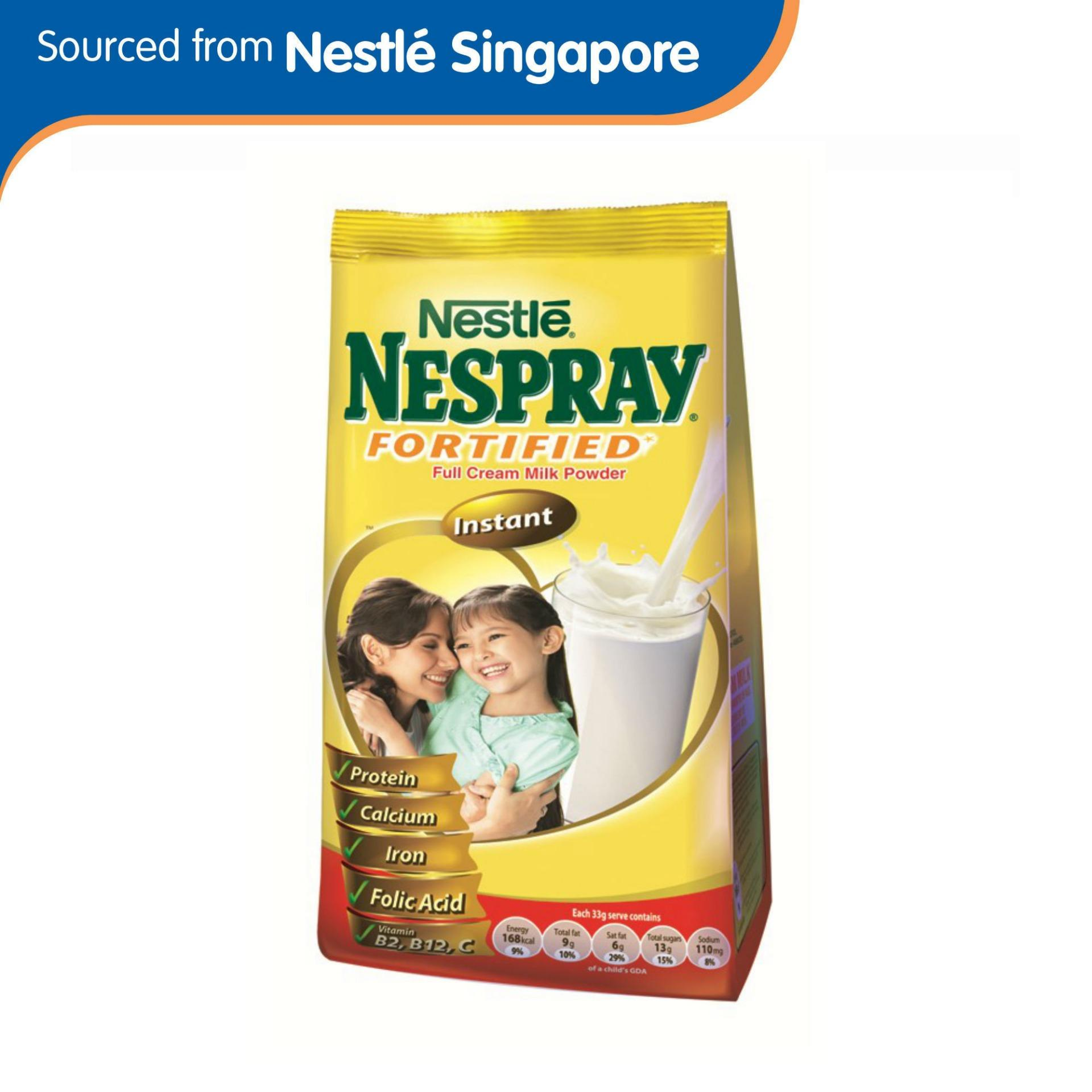 Nespray Instant Fortified Full Cream Milk Powder 600g By Nestle Official Store.