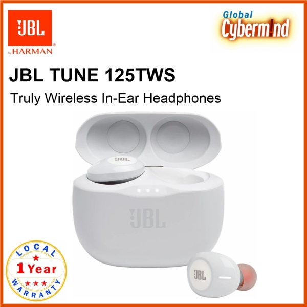 JBL TUNE 125TWS Truly Wireless In-Ear Headphones (Brought to you by Global Cybermind) Singapore