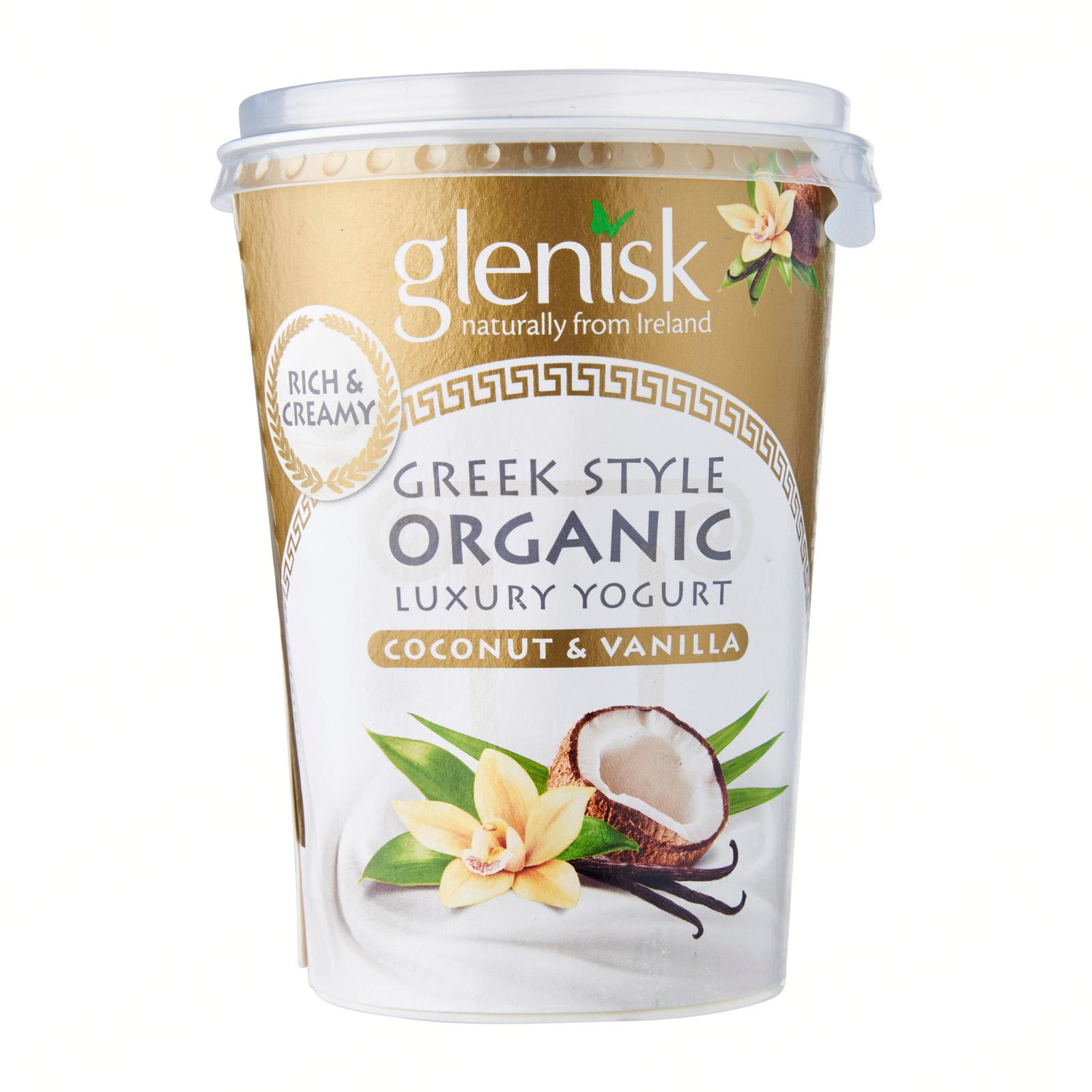 Glenisk Organic Greek Style Coconut and Vanilla Yoghurt