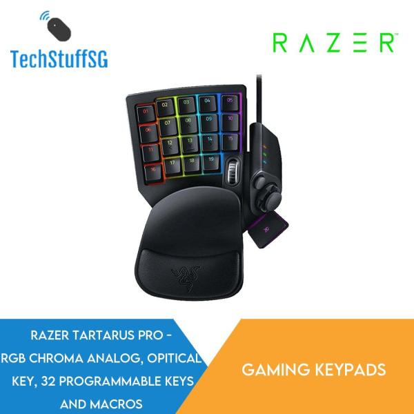 Razer Tartarus Pro Analog Optical Gaming Keypad Singapore