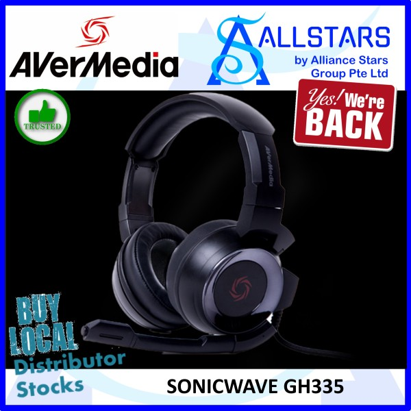 (ALLSTARS: We Are Back Promo) Avermedia Sonicwave GH335 Gaming Headset