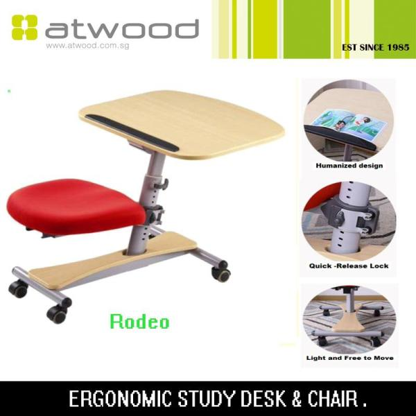 Rodeo Children Ergonomic Table with Seat