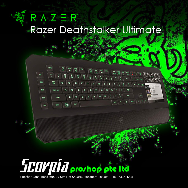 Razer Deathstalker Ultimate Gaming Keyboard Singapore