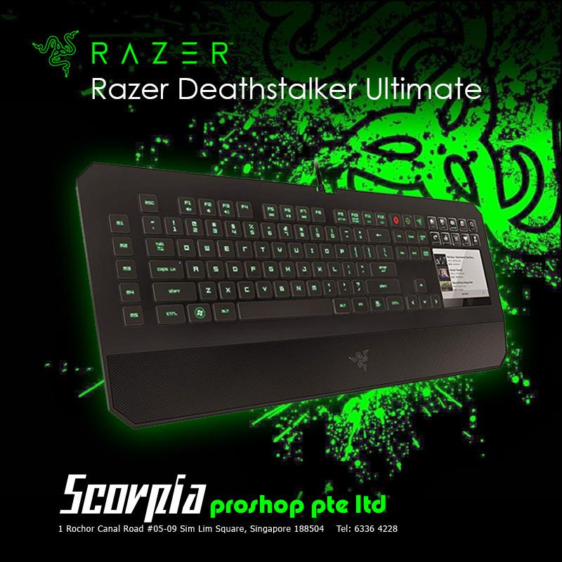 Razer Deathstalker Ultimate Gaming Keyboard Singapore