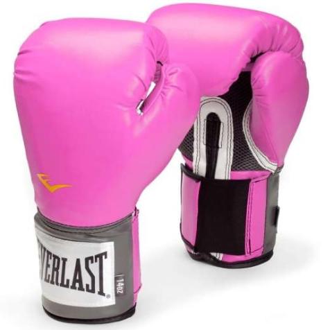 Everlast Pro Style Training Boxing Gloves 8030140pxn1 (pink) 8 Oz.