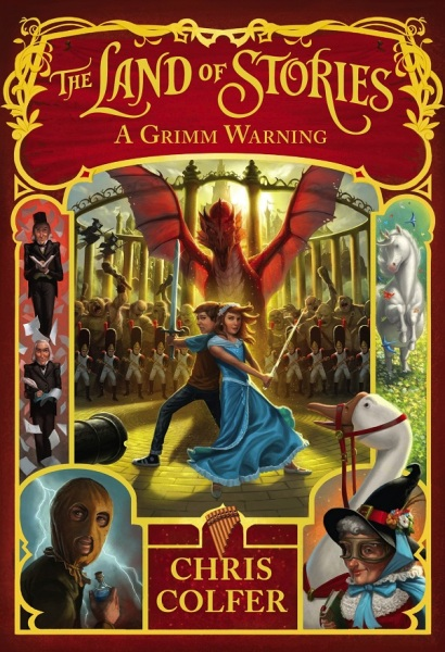 Land Of Stories 3: A Grimm Warning / English Young Adult Books / (9780316406826)