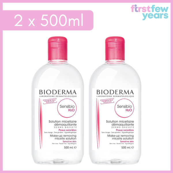 Buy Bioderma Sensibio H2O Micellar Water Makeup Remover 500ml [Twin/Triple Pack]  [Beauty Skincare - Best selling Make-up Remover/Cleansing Water] Singapore