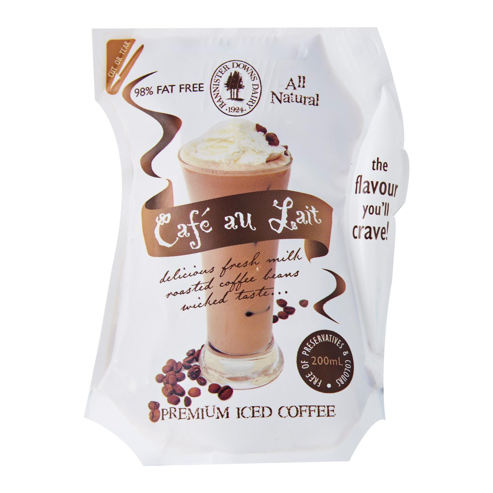 Bannister Downs Cafe au Lait Fresh Coffee Milk - Australia - 200mL