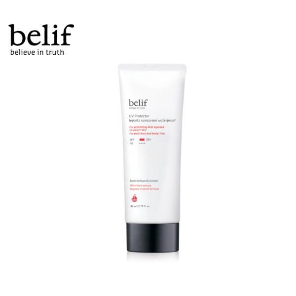 Buy belif UV Protector Leports Sunscreen Waterproof 80ml Singapore