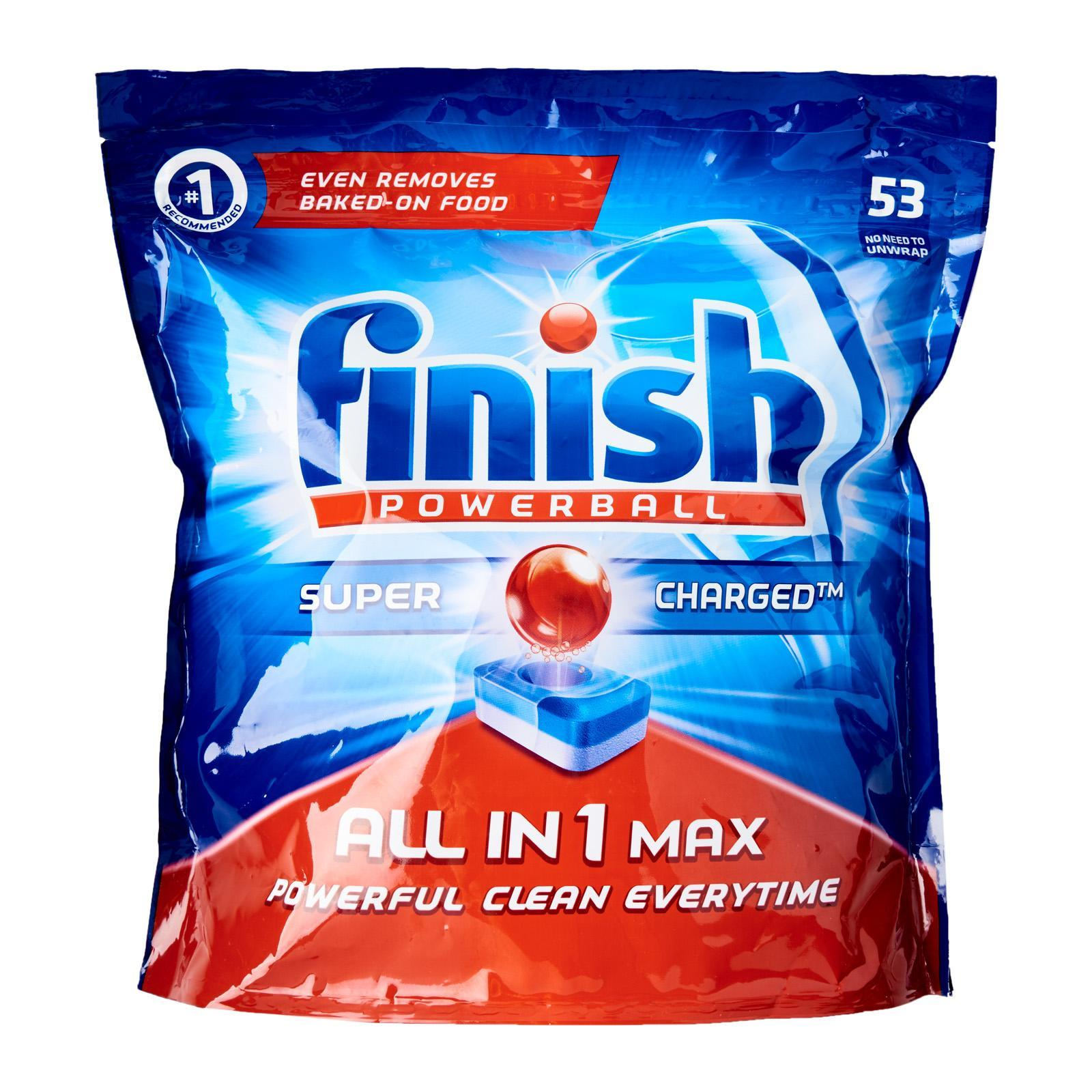 Finish All In 1 Turbo Dishwasher Tablets