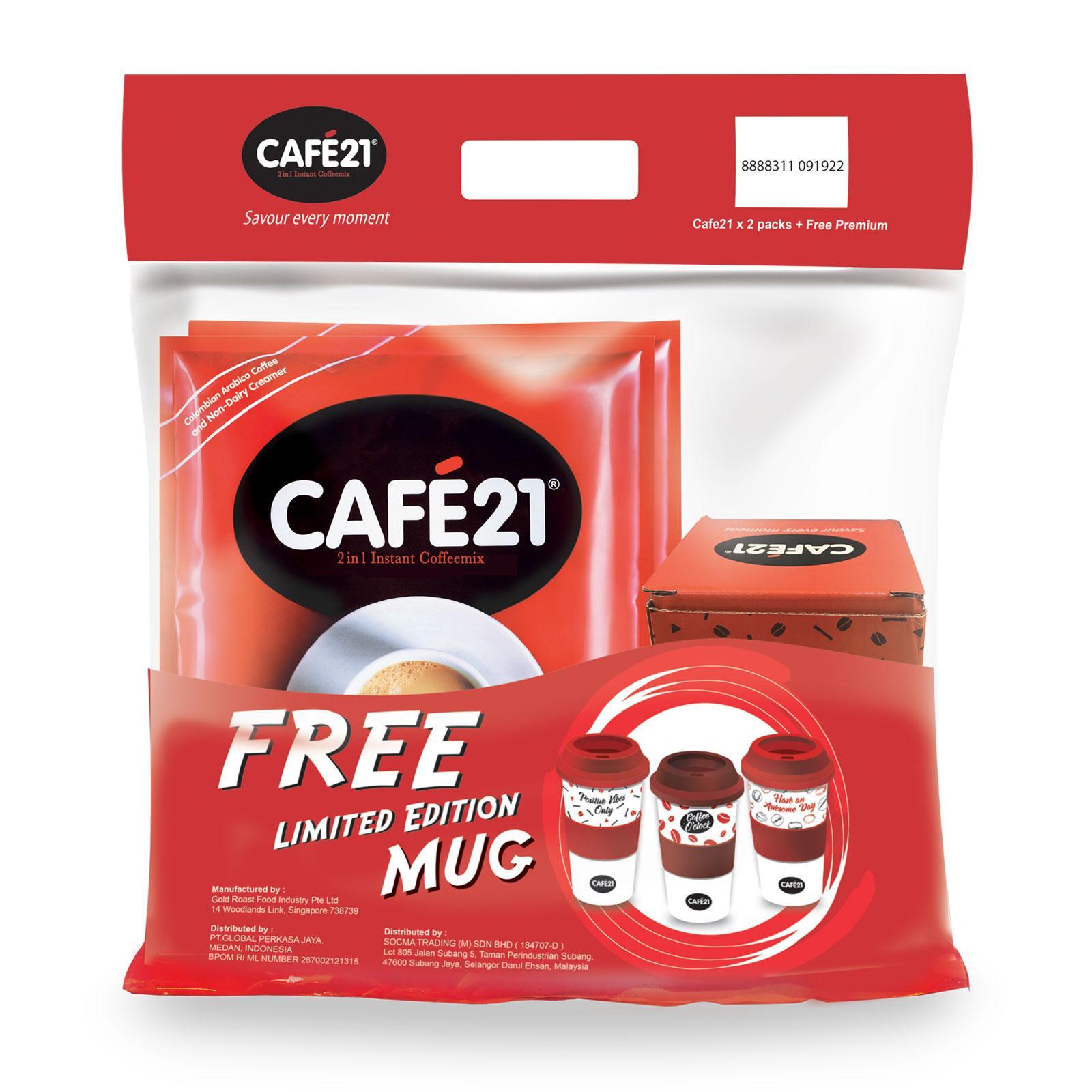 Cafe21 Premium Pack 2in1 Instant Coffeemix