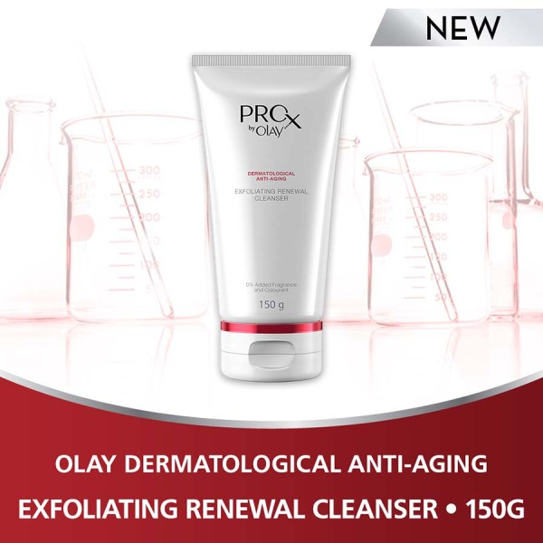 Buy Olay Pro-X Exfoliating Renewal Cleanser 150g Singapore