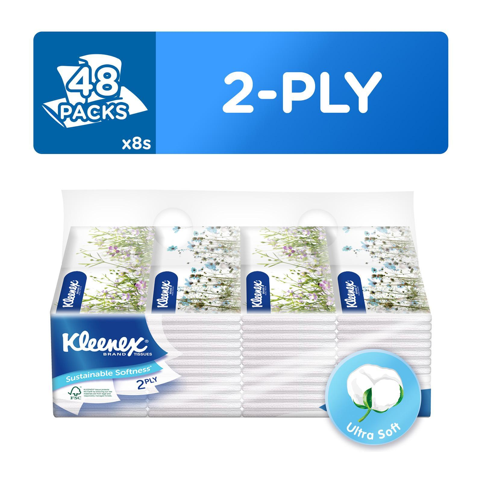 Kleenex 2 Ply Pocket Pack Main
