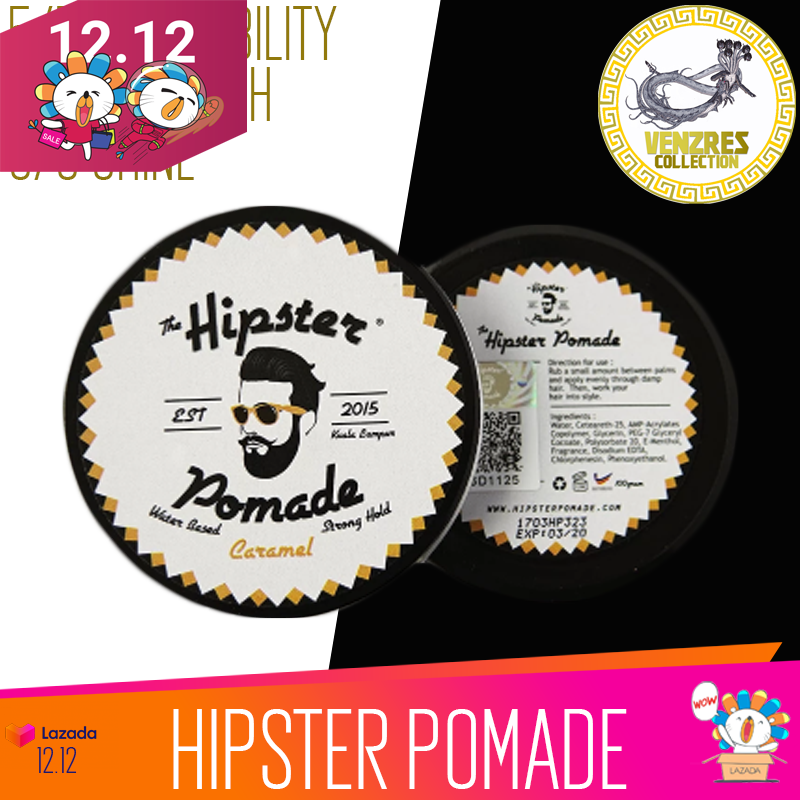 Buy HIPSTER Pomade 2.0 (Caramel Scent) (100ml) Singapore