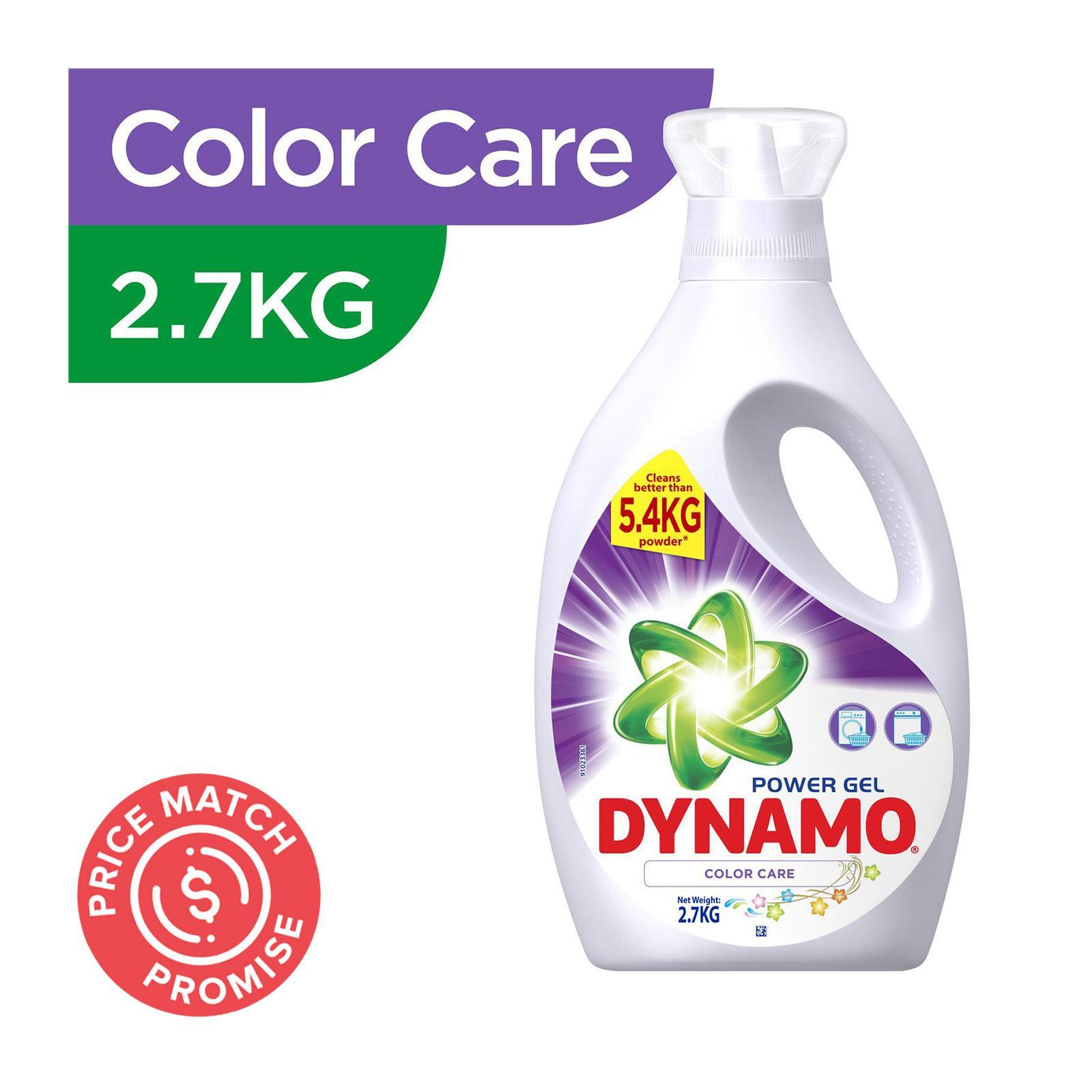 Dynamo Power Gel Color Care Laundry Detergent