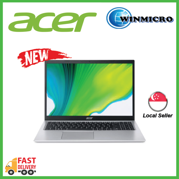 Acer Aspire 5 A515-56-57XR silver NEW 11th Gen i5-1135G7 | 8GB| 512GB| Intel Iris Xe Graphics | WIN10 | 15.6 FHD IPS | 2YEARS WARRANTY BY ACER
