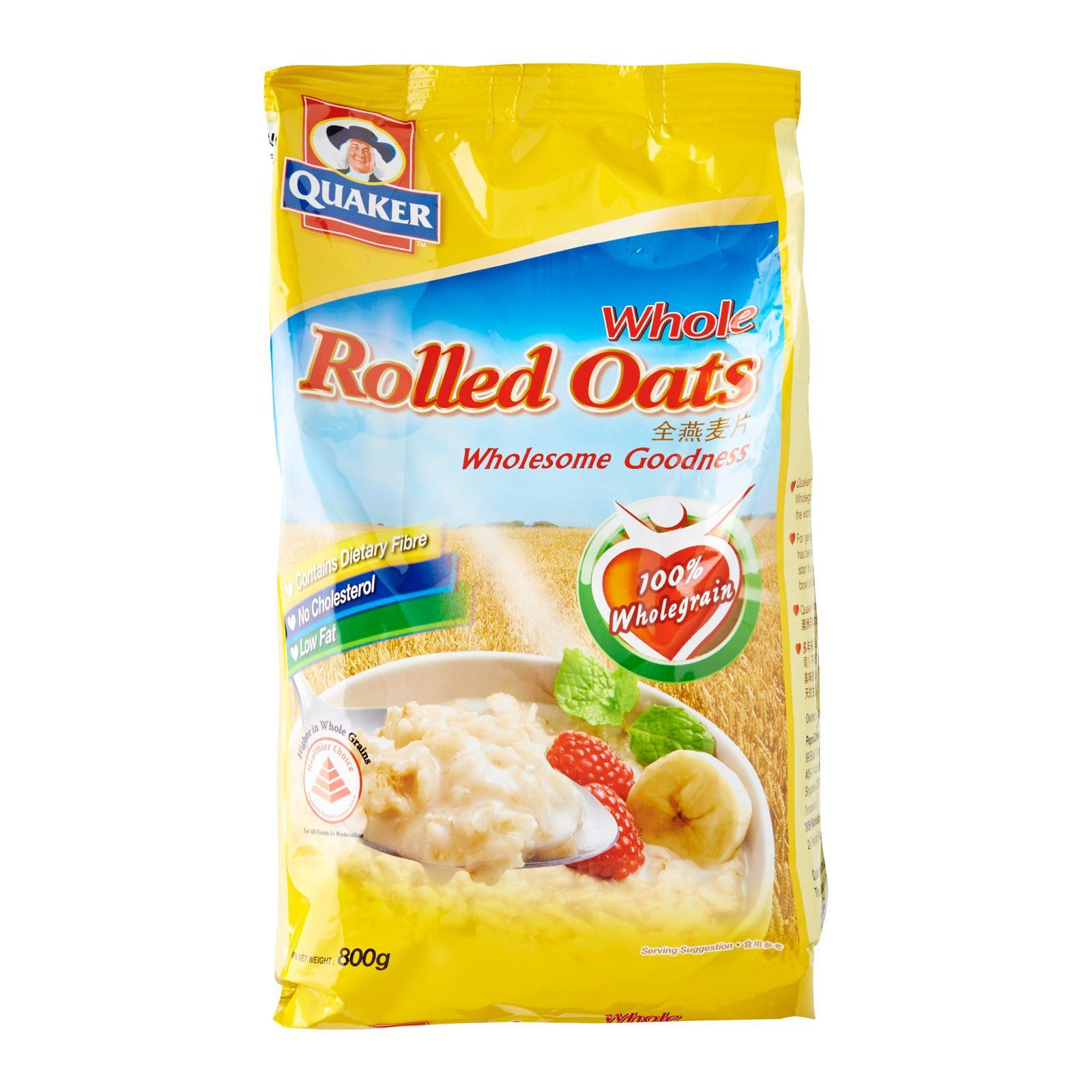 Quaker Whole Rolled Oats