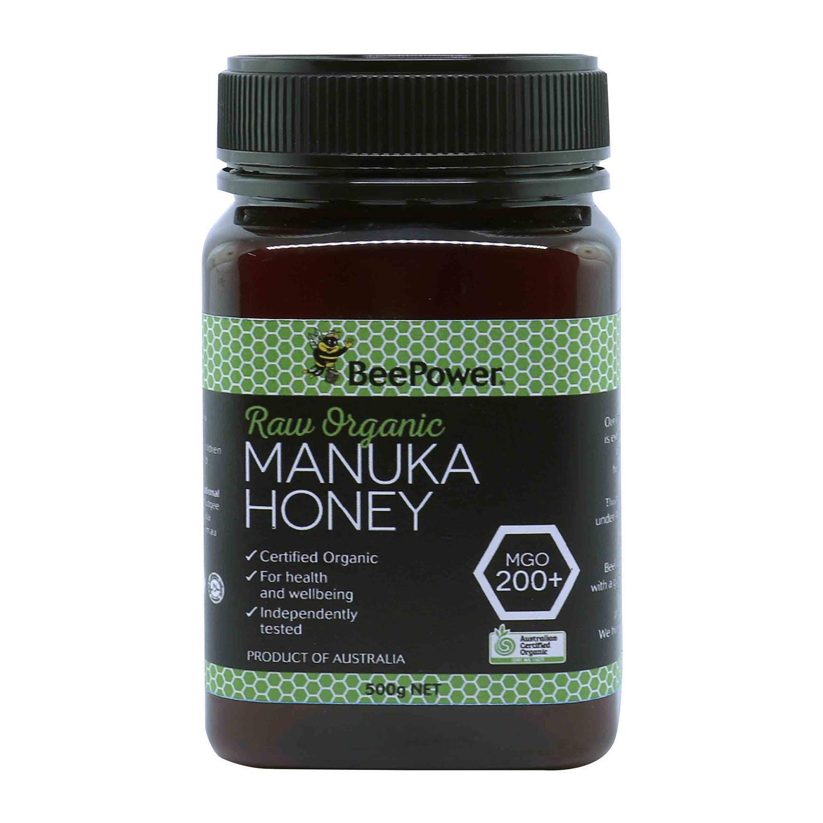 BEEPOWER Australia Organic Manuka Honey MGO 200+ - By Nature's Nutrition